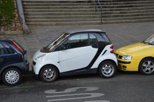 Bild Kleines Auto fuer die Stadt