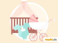 Grafik Erstausstattung fürs Baby