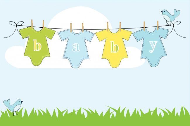 Bild von Baby Shower Party