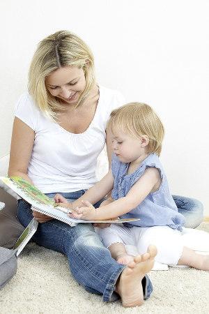Bild Baby Vorlesen