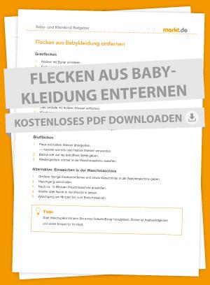 Checkliste Flecken entfernen Merkliste als PDF
