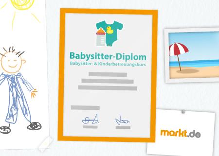 Grafik Babysitter Zertifikat