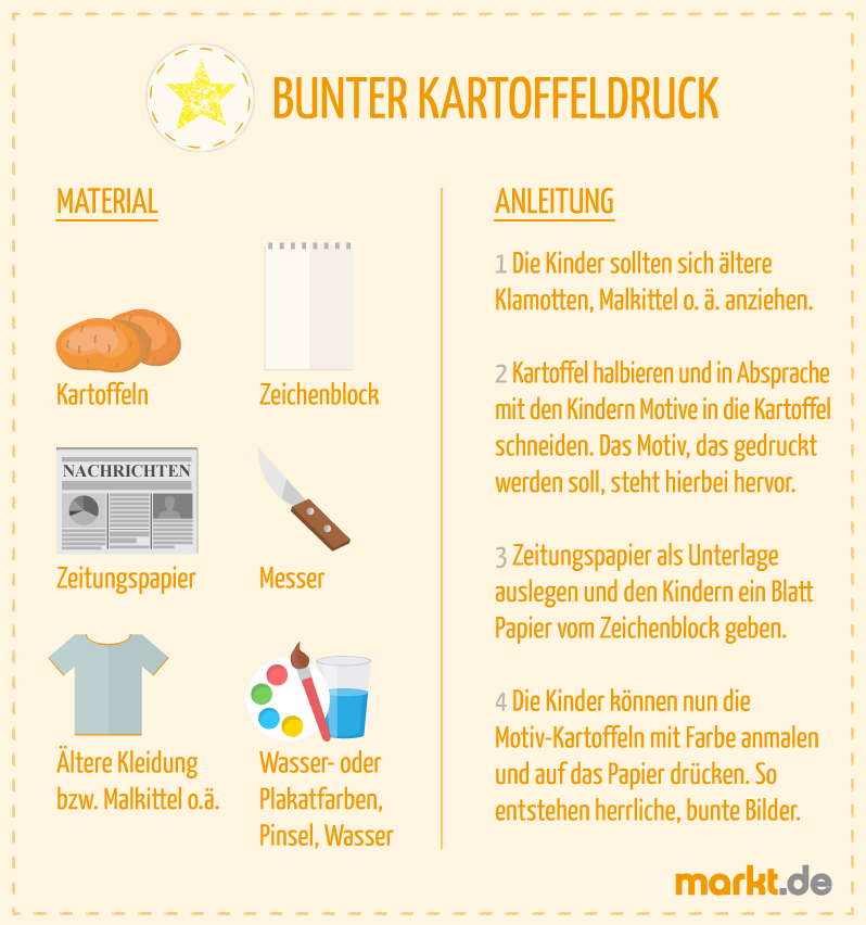 Bastelideen für Kinder | markt.de