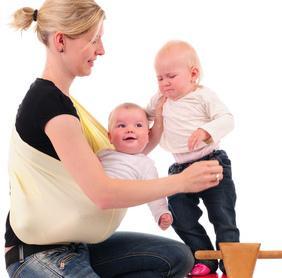 Tagesmutter mit Babys