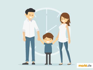 Grafik Familienzeit