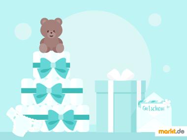 Grafik Geschenke für werdende Eltern