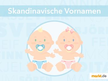 Grafik Skandinavische Vornamen fürs Baby