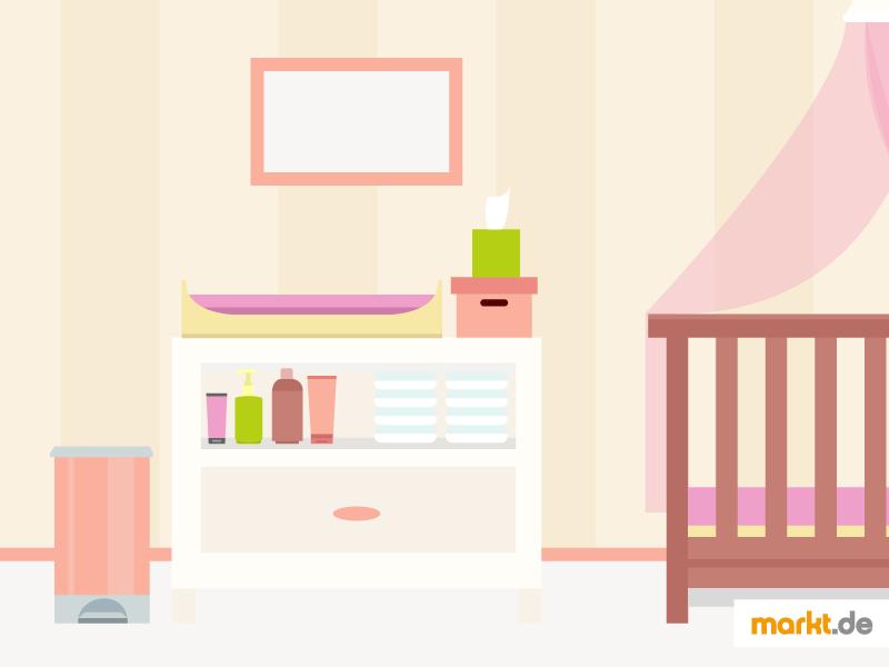 den richtigen wickeltisch finden. Black Bedroom Furniture Sets. Home Design Ideas