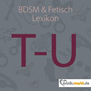Grafik BDSM Lexikon