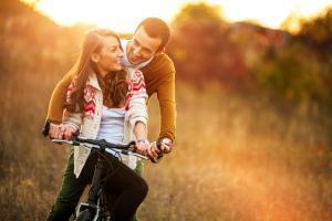 Parr bei Fahrradtour