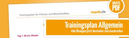 Grafik Trainingspläne als PDF
