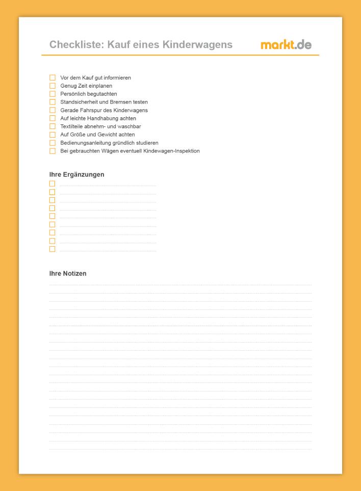 Checkliste Bachlauf