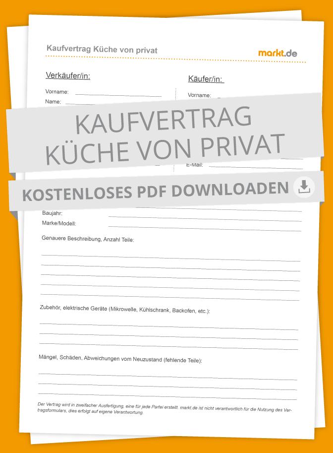 Kaufvertrag Küche: Tipps & Mustervertrag zum Download | markt.de