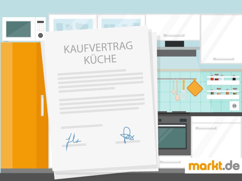 Kaufvertrag Kuche Tipps Mustervertrag Zum Download Markt De 14