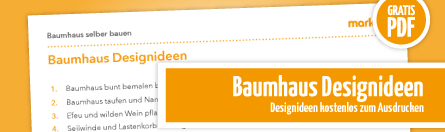 Grafik Designideen DIY Baumhaus