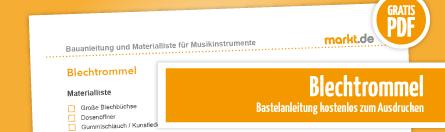 Grafik Bastelanleitung Blechtrommel