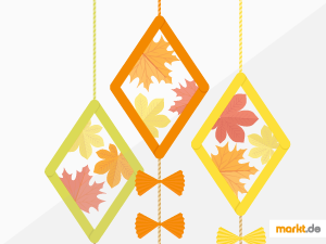 Grafik DIY Herbstdeko Drache