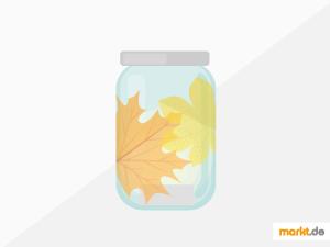 Grafik DIY Herbstdeko Windlicht