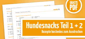Grafik Download Hundesnackrezepte 1+2