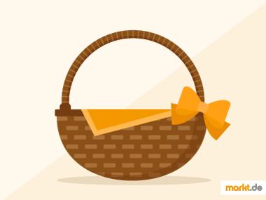 Grafik DIY Korb aus Weidenruten flechten