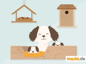 Grafik DIY-Ideen für Tiere