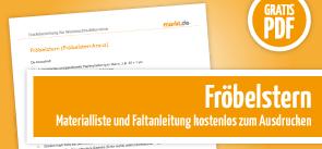 Grafik Download Fröbelstern Anleitung