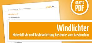 Grafik Download Anleitung Windlicht basteln