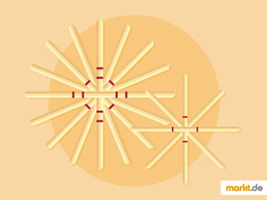 Grafik DIY Strohsterne basteln