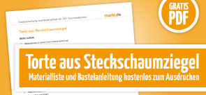 Grafik Download DIY Steckschaumtorte