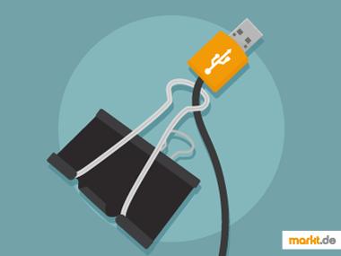 Grafik Foldback-Klammer für Kabel