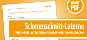 Grafik Scherenschnitt-Laterne PDF