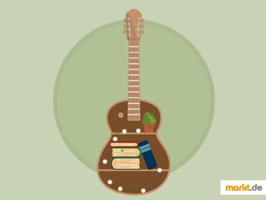 Grafik Upcycling Gitarre