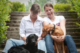 Zufriedene Hundebesitzer