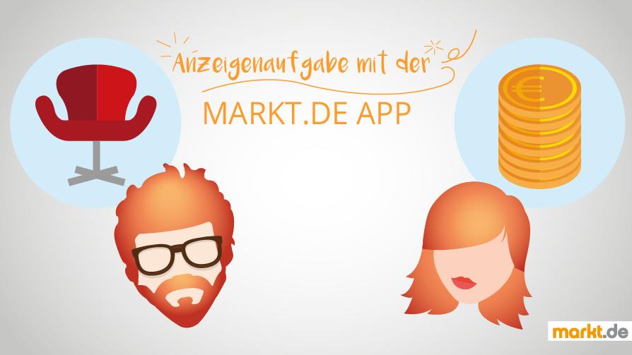Anzeigenaufgabe per App