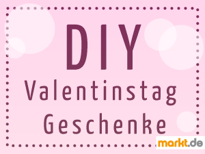 Grafik Valentinstagsgeschenke zum selber machen