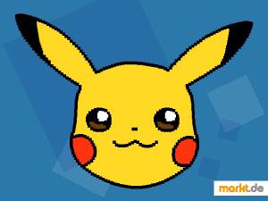 Grafik Pikachu verpixelt