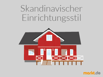 Grafik Skandinavischer Einrichtungsstil