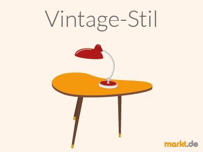 Grafik Vintage Stil