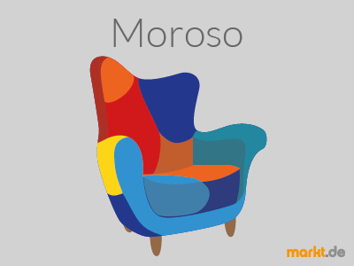 Grafik Moroso Sessel