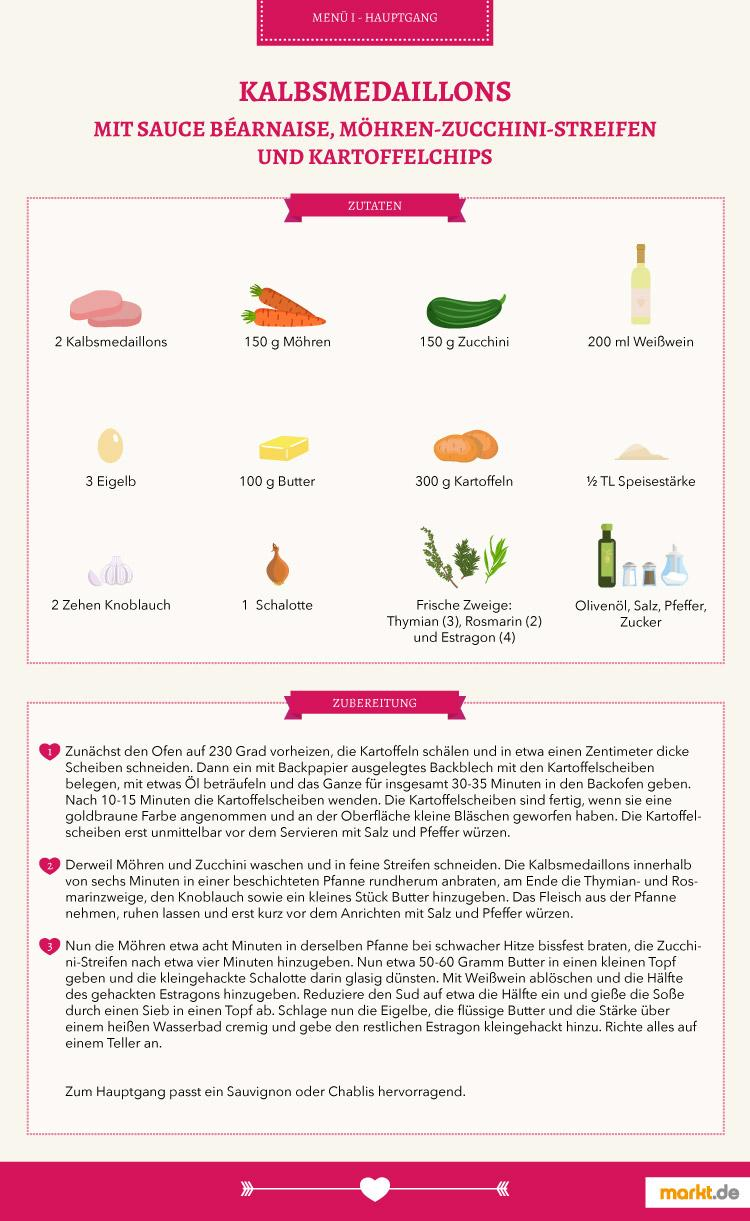 Valentinstag Menü: Rezeptvorschläge | markt.de