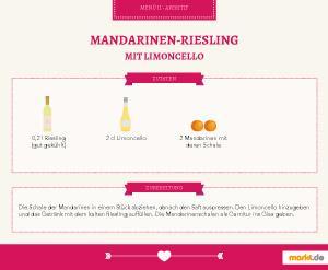 Grafik Mandarinen-Riesling mit Limoncello
