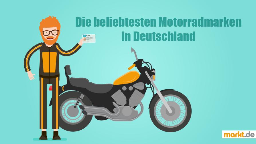 Beliebtesten Motorradmarken