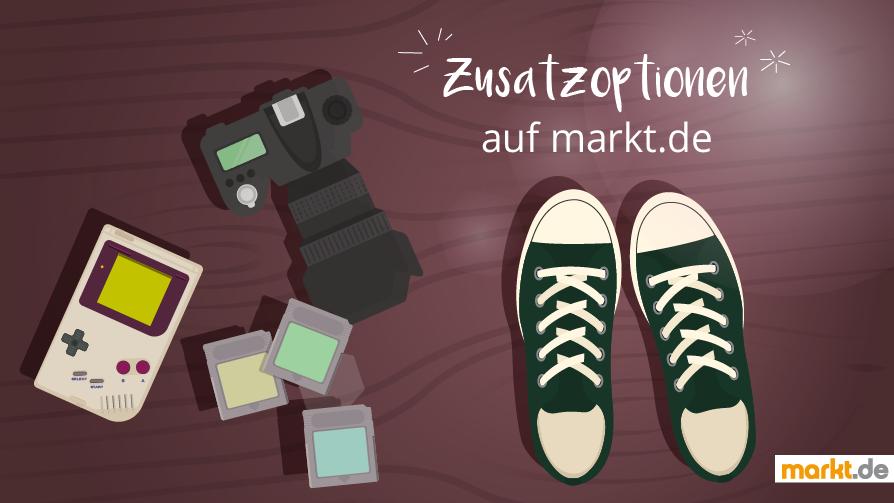 Zusatzoptionen auf markt.de
