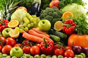Bild Gemüse für die Fütterung