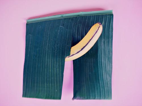 Banane als Penis