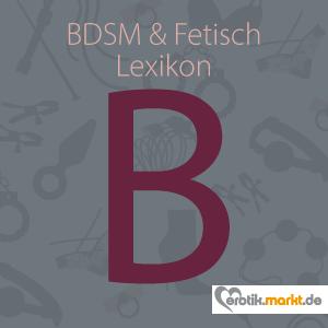 Bild BDSM Lexikon B