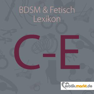 Bild BDSM Lexikon C-E