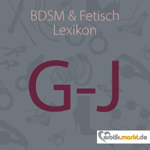 Bild BDSM Lexikon G-J