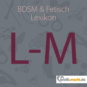 Grafik BDSM Lexikon L-M