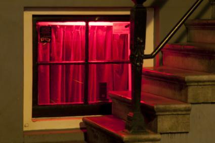 Fenster Rotlichtviertel